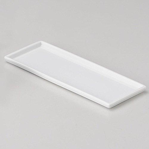 白磁長角カスタートレー [21.2 x 8.3 x 1cm 186g] 【卓...