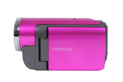 KFE EXEMODE SDカード対応 デジタルムービーカメラ ピンク DV-230 (200万画素CMOSイメージセンサー搭載)