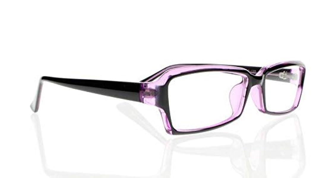 FidgetGear マルチカラーの女性の長方形のフレーム繊細なリーダー老眼鏡+1.0?+4.0 紫の