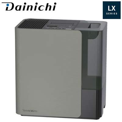 ダイニチ ハイブリッド式(温風気化+気化)加湿器(木造20畳まで/プレハブ洋室33畳まで モスグレー)DAINICHI HD-LX1219-H