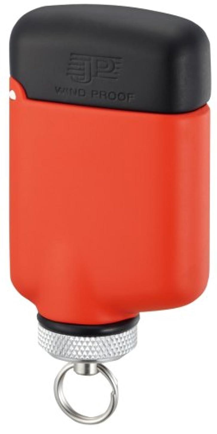 湖コンパニオン届けるWINDMILL(ウインドミル) ターボライター JP 内燃式 耐風対応 オレンジ JPW-0011