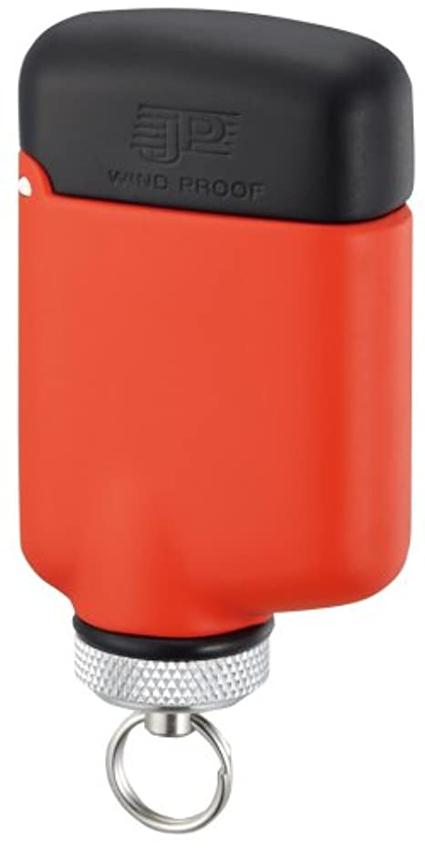 しっかりシャーチャットWINDMILL(ウインドミル) ターボライター JP 内燃式 耐風対応 オレンジ JPW-0011