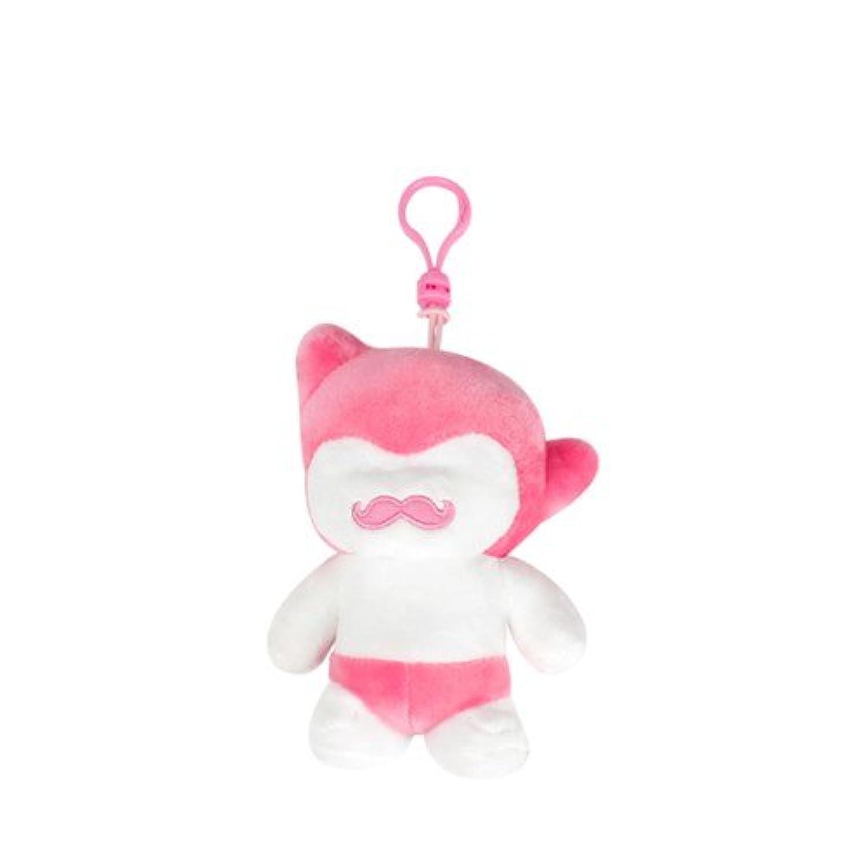 Mustro Boy Toy - Bag ring 12cm Pink