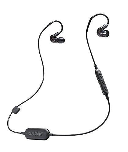 SHURE ワイヤレスイヤホン BT1シリーズ SE215 Bluetooth カナル型 高遮音性 ブラック SE215-K-BT1-A 【国内正規品】