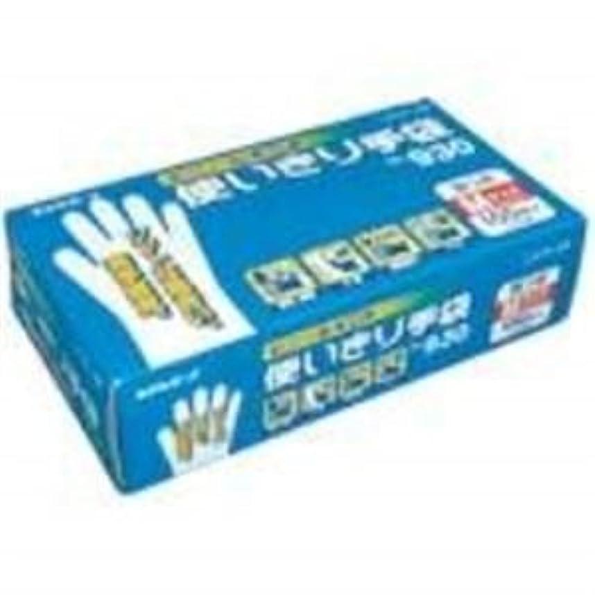 長々と拡声器上下する(業務用30セット) エステー ビニール使い捨て手袋/作業用手袋 【No.930/M 1箱】