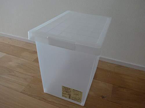 無印良品 ポリプロピレンキャリーボックス・折りたたみ式・大 (V)約幅36×奥51×高24.5cm 日本製