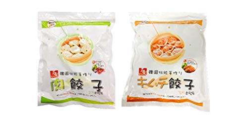 韓国餃子2�s(肉餃子1�s+キムチ餃子1�s)
