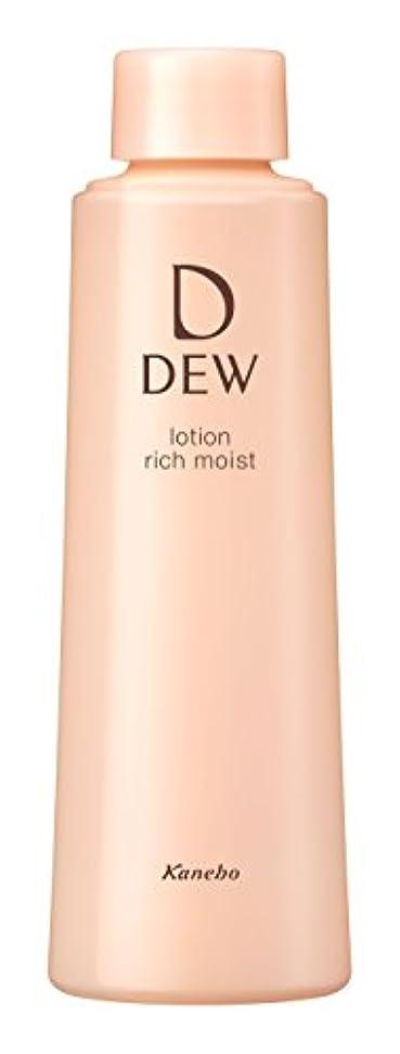 対称遷移敵対的DEW ローション とてもしっとり レフィル 150ml 化粧水