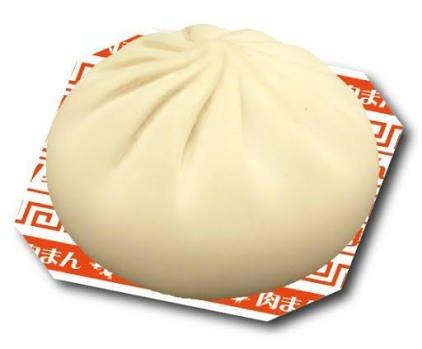 【おもしろ雑貨】肉まんスクイーズマスコット ぷにぷにマスコット [037524]