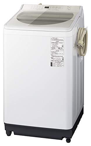 パナソニック 8kg 全自動洗濯機 泡洗浄・パワフル立体水流 シャンパン NA-FA80H7-N