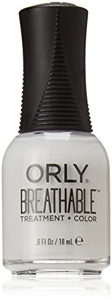 究極の有望連隊Orly Breathable Treatment + Color Nail Lacquer - Power Packed - 0.6oz / 18ml