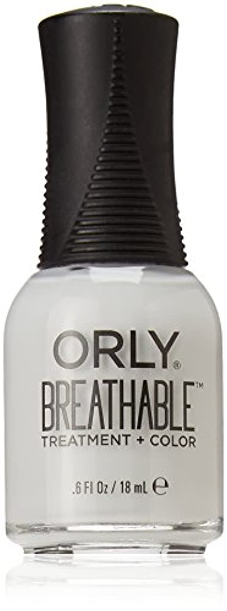 姿勢厄介な昨日Orly Breathable Treatment + Color Nail Lacquer - Power Packed - 0.6oz / 18ml