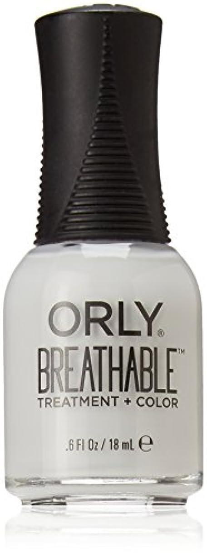 集中的なシェアフェンスOrly Breathable Treatment + Color Nail Lacquer - Power Packed - 0.6oz / 18ml
