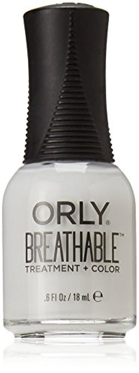 無臭休日にもっと少なくOrly Breathable Treatment + Color Nail Lacquer - Power Packed - 0.6oz / 18ml