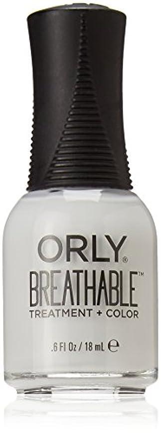 韓国語腰物理的にOrly Breathable Treatment + Color Nail Lacquer - Power Packed - 0.6oz / 18ml