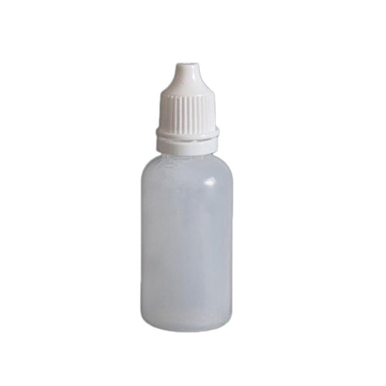 摂動暖かさ褒賞Grandmart プラスチックスポイト瓶 目薬スポイト瓶 ドロッパーボトル スポイトタイプ容器点眼 滴瓶 10個セット