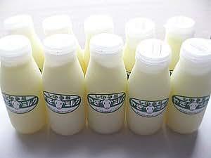 しれとこヤギミルク (200ml) ×10本 無添加 北海道産 栄養満点 人、ペットにも優しいやぎミルク (ノンホモ山羊乳)