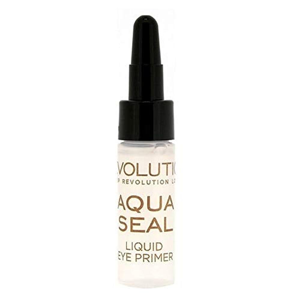 恐れパドルワックス[Revolution ] 革命液体アクアシールアイシャドウプライマー9グラム - Revolution Liquid Aqua Seal Eyeshadow Primer 9g [並行輸入品]