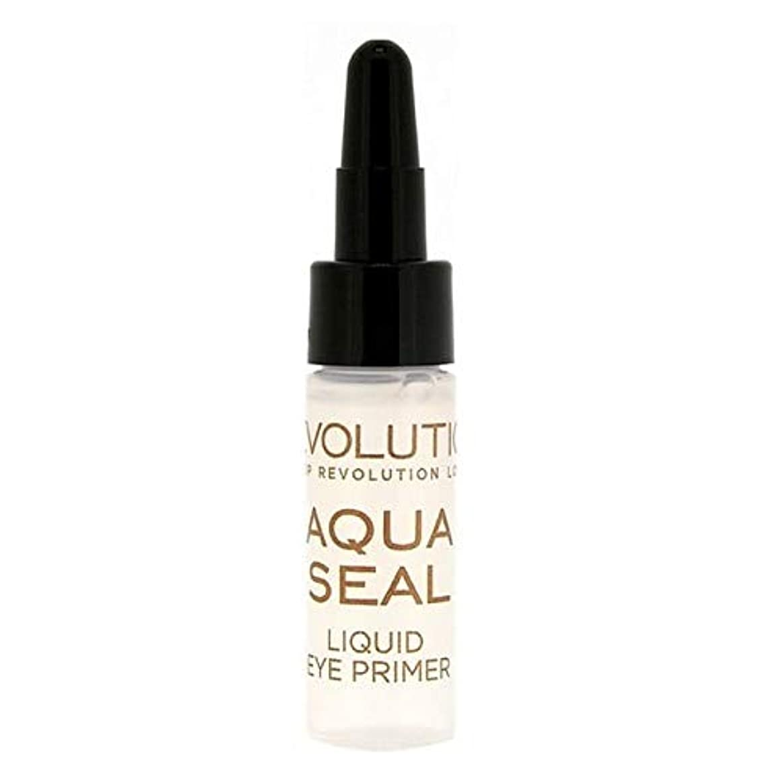 クラッシュ意気揚々エージェント[Revolution ] 革命液体アクアシールアイシャドウプライマー9グラム - Revolution Liquid Aqua Seal Eyeshadow Primer 9g [並行輸入品]
