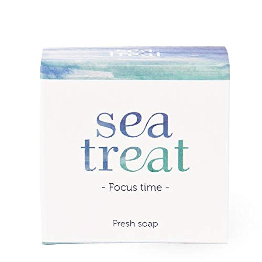 ダンス兵隊発明sea treat ソープ 石鹸(さっぱりタイプ)-Foucus time-