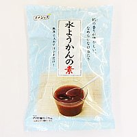 イナショク 水ようかんの素 670g(ミックス粉120g、こし餡550g)