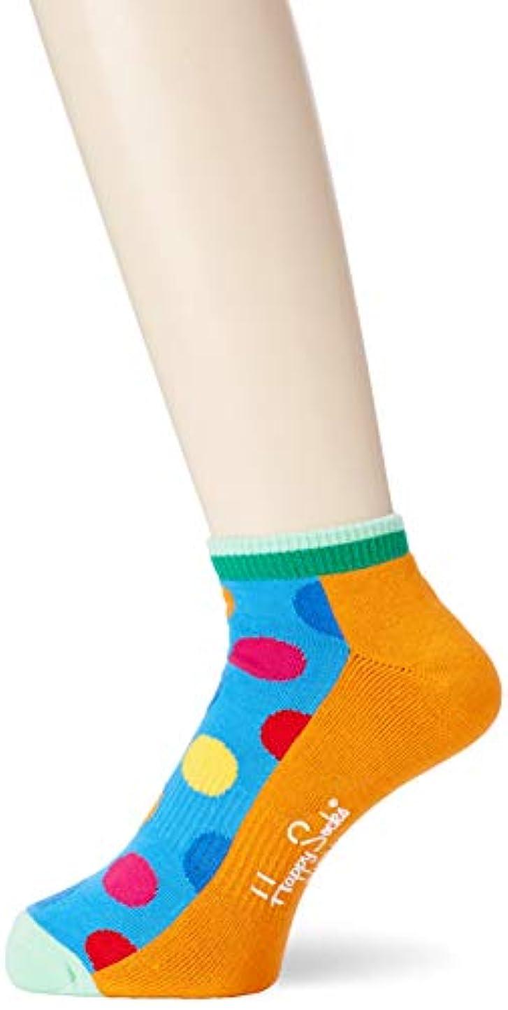 止まる副詞早める[ハッピーソックス] ソックス Athletic Big Dot Low Sock