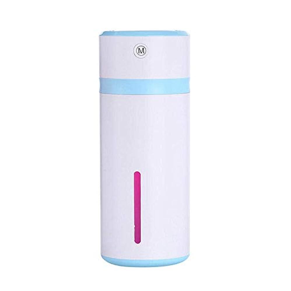 リットル署名パワーセルSOTCE アロマディフューザー加湿器超音波霧化技術満足のいく解決策美しい装飾連続霧モード湿潤環境 (Color : Robin Egg Blue)