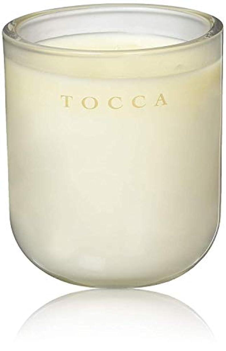 チャップ近代化句TOCCA(トッカ) ボヤージュ キャンドル モントーク 287g (ろうそく 芳香 キューカンバーの爽やかな香り)