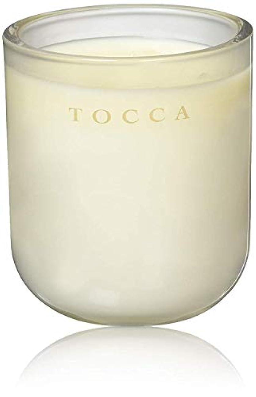 マーベル不屈いつもTOCCA(トッカ) ボヤージュ キャンドル モントーク 287g (ろうそく 芳香 キューカンバーの爽やかな香り)