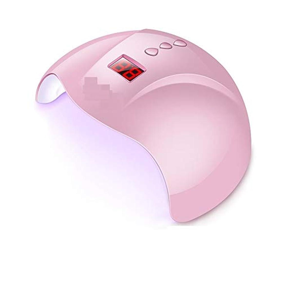 引き算無力キャプテンLittleCat スマートセンサ36WポーランドゴムバンドドライヤーLED + UVランプライトセラピーネイル速乾性ネイルマシン (色 : 36w white)