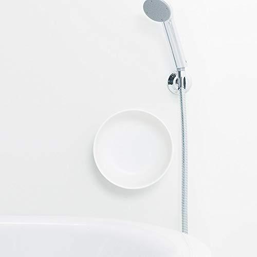 マーナ(Marna) 湯おけ ホワイト 約径22×7.6cm マグネット湯おけ きれいに暮らす。