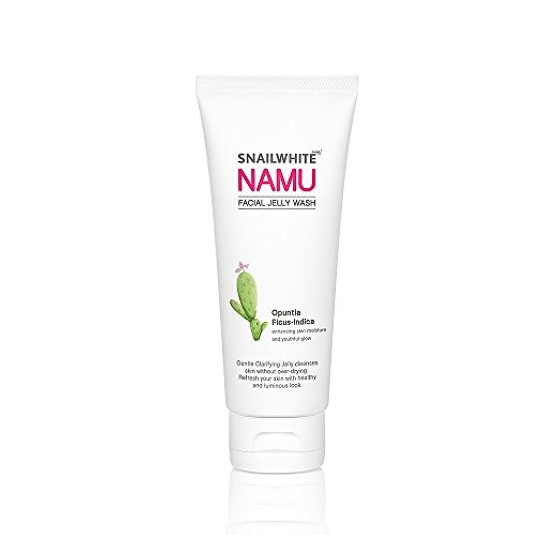 つま先健康的飾り羽ナムライフスパイナイトフェイシャルジェリーウォッシュ100ml ホワイトニング NAMU LIFE SNAILWHITE NAMU FACIAL JELLY WASH