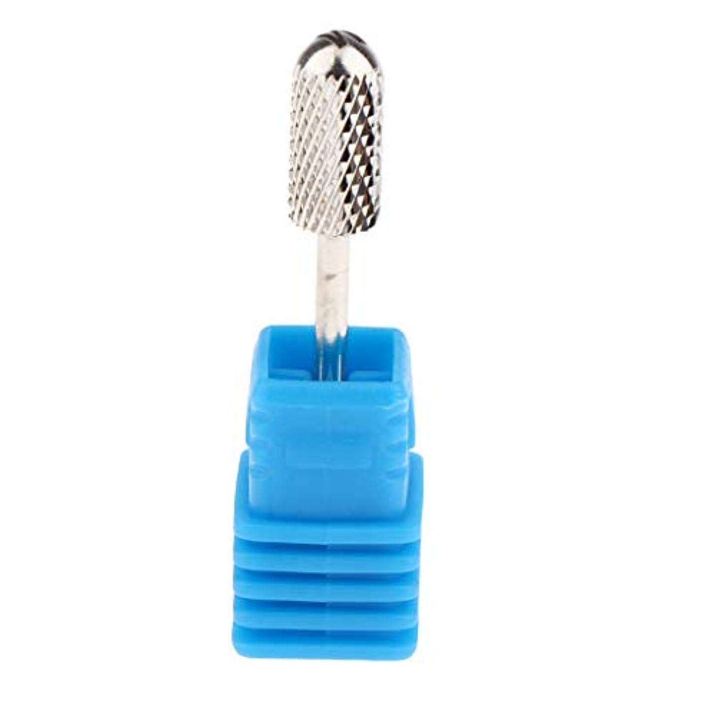 狭いスピン品種4サイズ選択 マニキュア ネイルケア用 電気マニキュアドリルビットヘッド 研削ヘッド - M