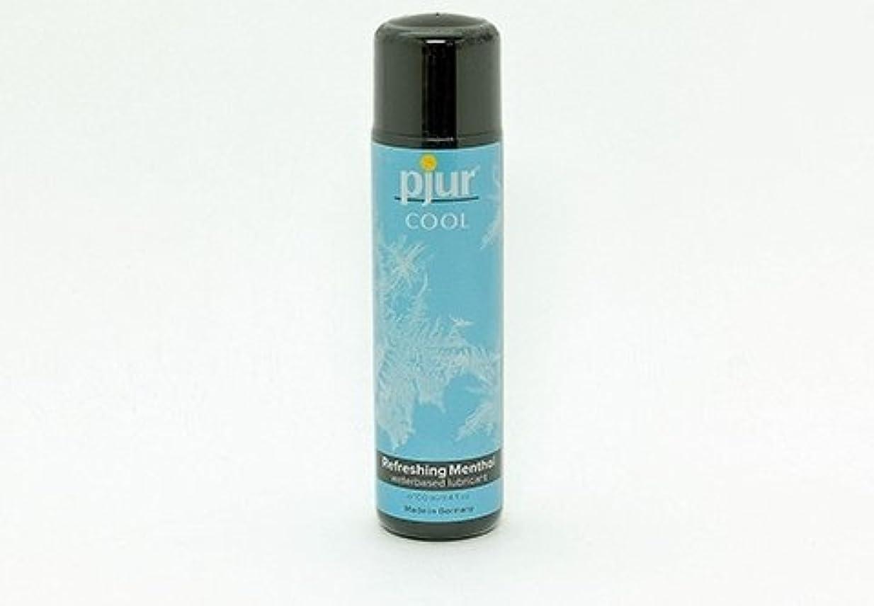 平らな再編成するどこにでもPjur Coolローション100ml 海外直送品 (1本)