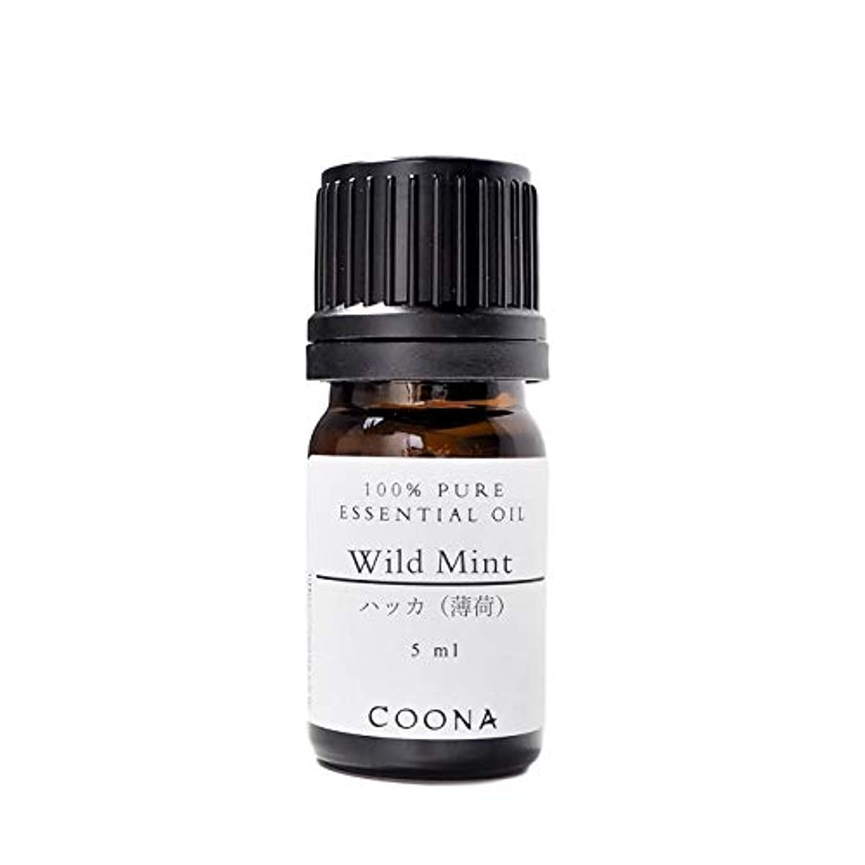 未接続ただ単独でハッカ (薄荷) 5 ml (COONA エッセンシャルオイル アロマオイル 100%天然植物精油)