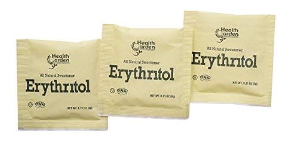 混雑正規化無限Health Garden Erythritol Sugar Free Sweetener - 100% Natural & Non GMO Sugar Substitute (1000 Packets) [並行輸入品]