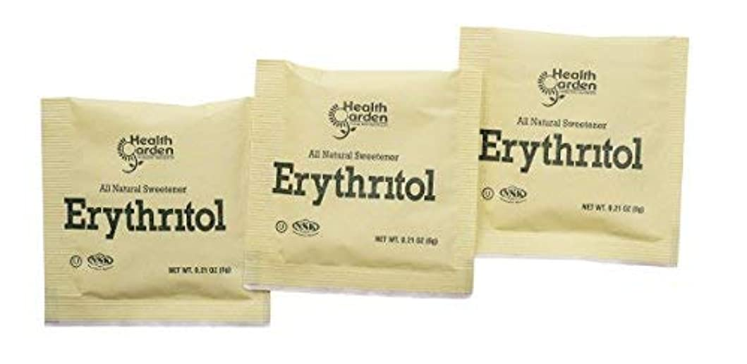 昇進熟読メディアHealth Garden Erythritol Sugar Free Sweetener - 100% Natural & Non GMO Sugar Substitute (1000 Packets) [並行輸入品]