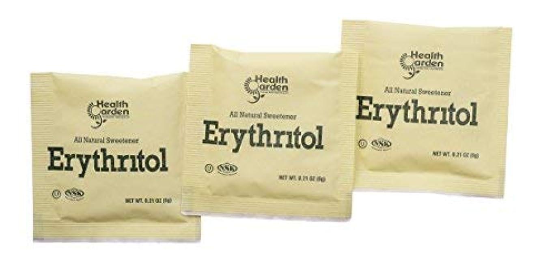 懇願する肉屋蒸留するHealth Garden Erythritol Sugar Free Sweetener - 100% Natural & Non GMO Sugar Substitute (1000 Packets) [並行輸入品]