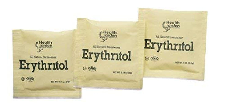 結紮クレーター弾薬Health Garden Erythritol Sugar Free Sweetener - 100% Natural & Non GMO Sugar Substitute (1000 Packets) [並行輸入品]