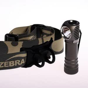 ZEBRALIGHT ゼブラライト H52w AA Headlamp Neutral White 【Cree XM-L2 Neutral White (Norminal CCT 4400K)】 単3アルカリ電池×1本使用