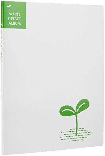 HAKUBA アルバム フリー ミニピタット アルバム 双葉 ホワイト 2Lまで 11~20ページ AP-M04W