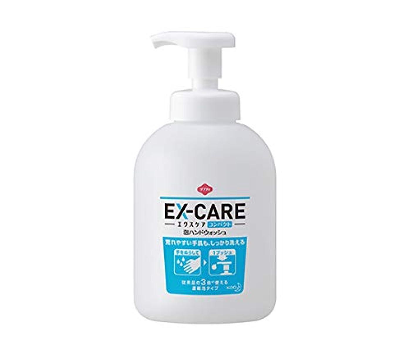 パワー不条理ほぼ花王 ソフティ EX‐CARE(エクスケア) コンパクト泡ハンドウォッシュ 500mL×6本