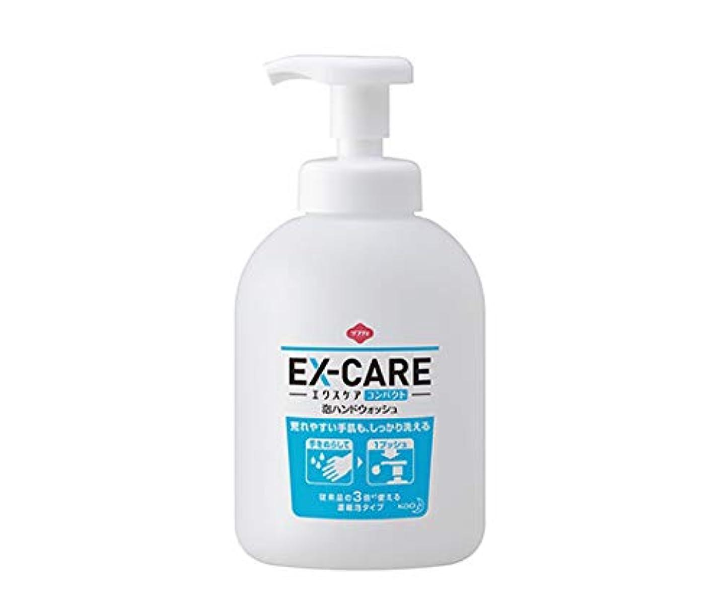 寄付するつづりパース花王 ソフティ EX‐CARE(エクスケア) コンパクト泡ハンドウォッシュ 500mL×6本