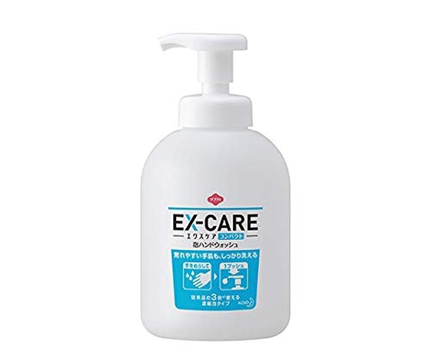 寛大さ所有権不運花王 ソフティ EX‐CARE(エクスケア) コンパクト泡ハンドウォッシュ 500mL×6本