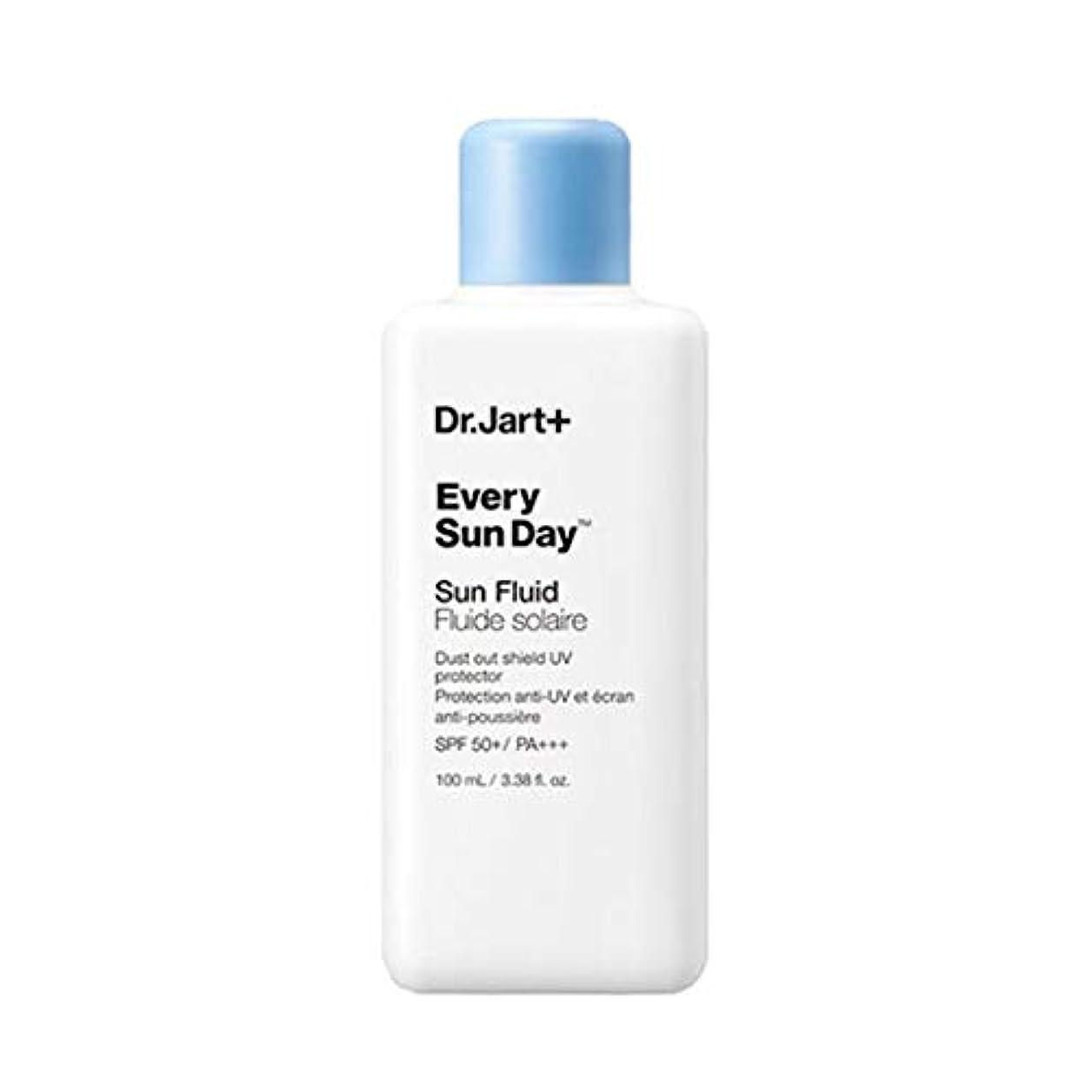 干し草是正する食品ドクタージャルトゥエヴリサンデーソンプルルイドゥSPF50+PA+++100mlソンクリム、Dr.Jart Every Sun Day Sun Fluid SPF50+ PA+++ 100ml Sun Cream [並行輸入品]