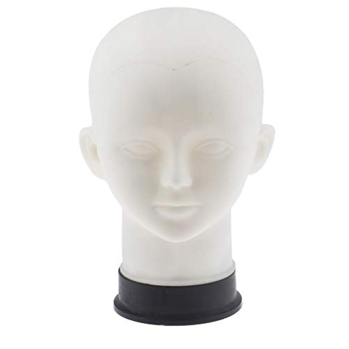 癒す揮発性家マネキンヘッド 男性 メイクアップ練習 かつら 帽子 スカーフ ディスプレイ ホルダー