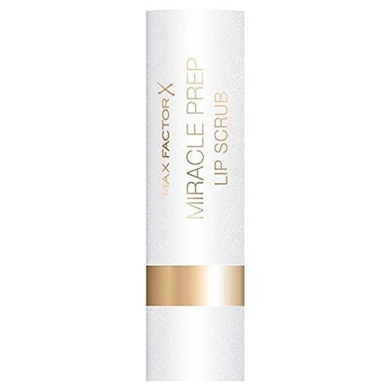シャッターアンペア割り当てます[Max Factor] マックスファクター奇跡の準備リップスクラブ - Max Factor Miracle Prep Lip Scrub [並行輸入品]