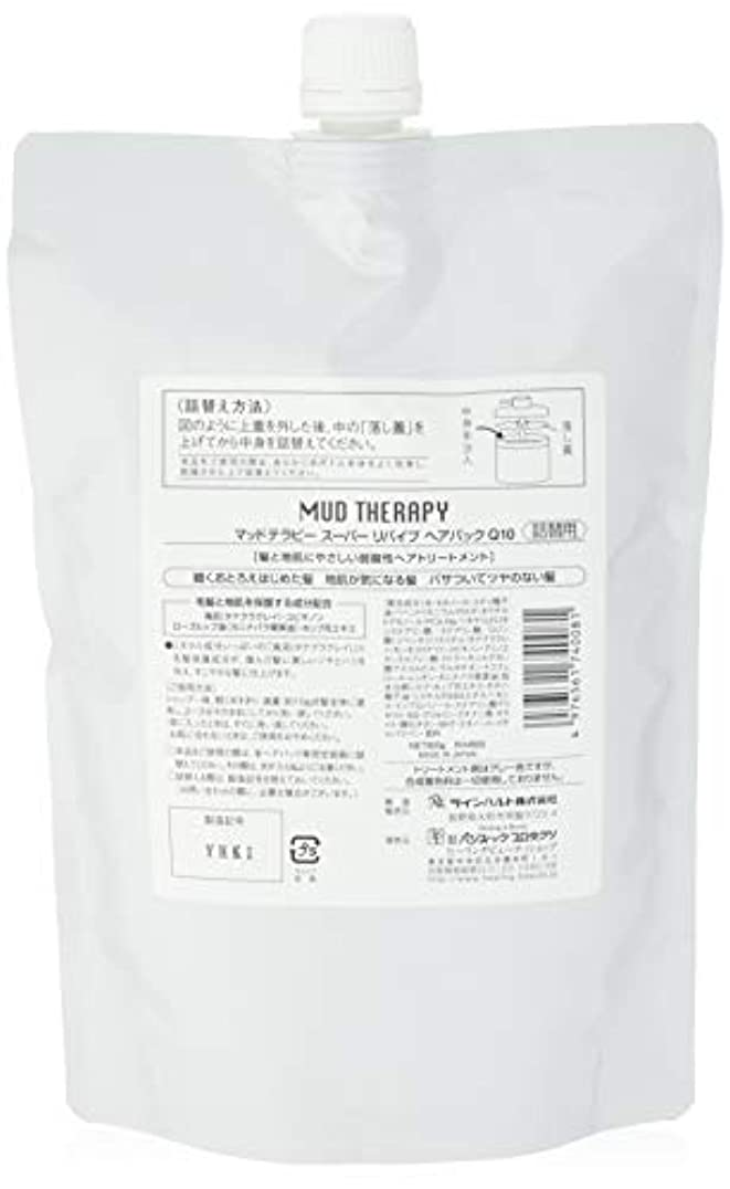 噴火十辛なマッドテラピー ヘアパックQ10 800g(詰め替え)