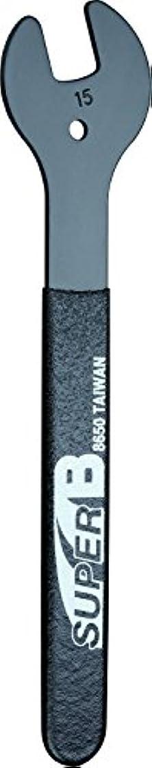 軽食ハチ早めるSUPER B(スーパービー) ハブコンレンチ 15mm 8650