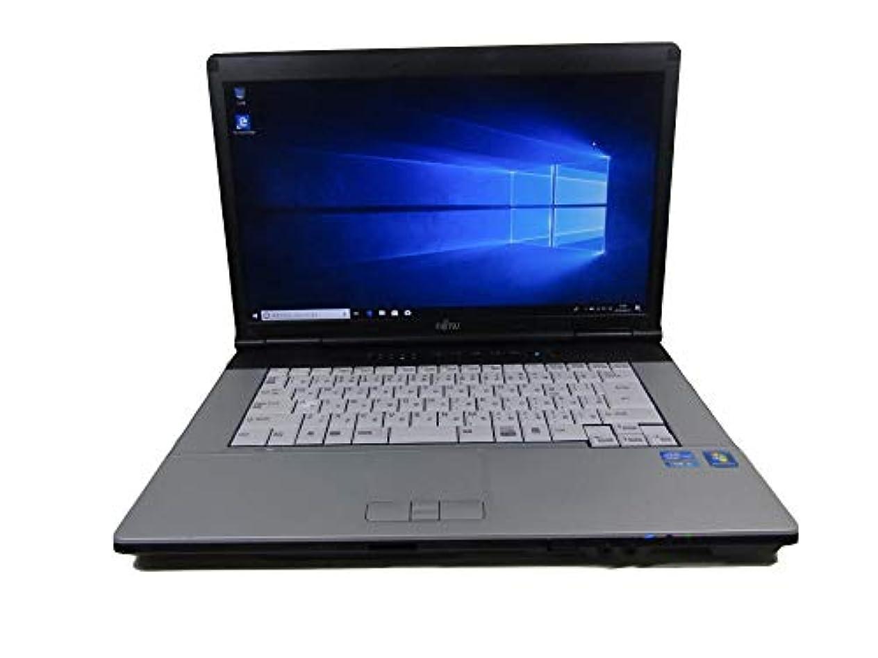 歩行者受け取る暴力中古 富士通 ノートパソコン FMV-E741/C 正規office付き/第二世代 I5/Windows10 pro搭載/15.6インチ大画面/大容量8GBメモリー/HDD 250GB/無線LAN搭載/解像度1920*1080(フルHD) (新品メモリー 16GB, 新品SSD 480GB)